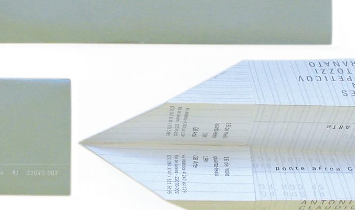 <p>cliente// Marcia Barrozo do Amaral Galeria de Arte</p> <p>designer assistente// Joana Leal</p> <p>convite exposição</p>